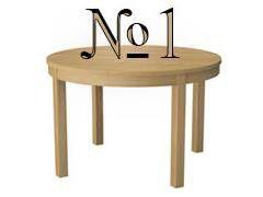 Стол №1
