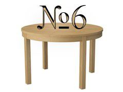 Стол №6